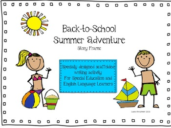 Back to School Writing Activity: My Summer Adventure