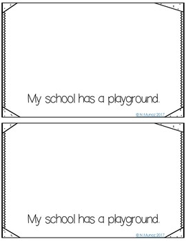 Back to School Writing Booklet