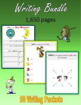 Back to School Writing Bundle