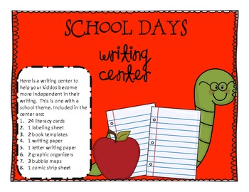 Back to School - Writing Center
