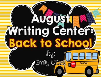 Back to School Writing Center