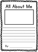 All About Me Writing Craft {Craftivity}