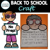 Back to School Writing Craft NO PREP