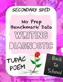 Back to School Writing Diagnostic - The Secondary SPED Store