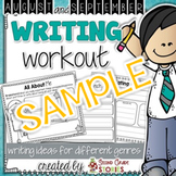 Back to School Writing - Freebie