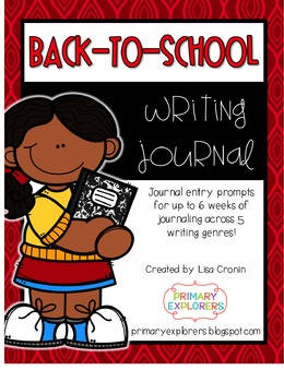 Back-to-School Writing Journal