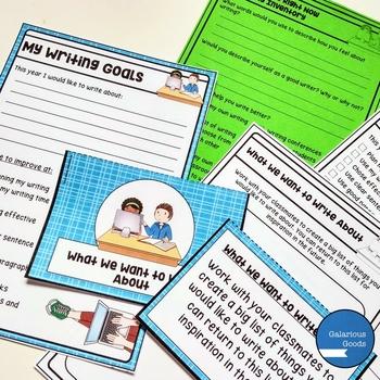 Back to School Writing Kit