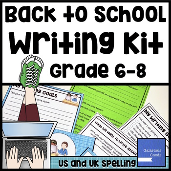 Back to School Writing Kit