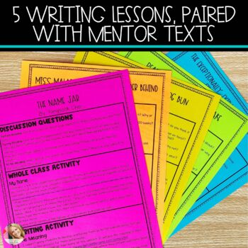Back to School Writing Lessons & Activities