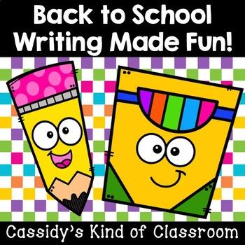 Back to School Writing Made Fun