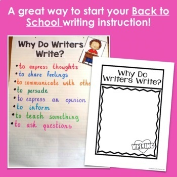 Back to School: Writing Notebook Pages