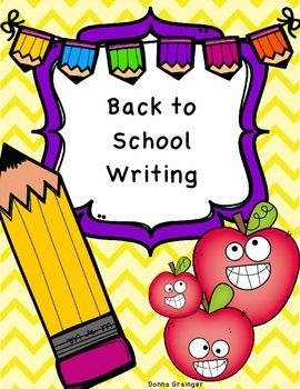 Free Back to School Writing Paper