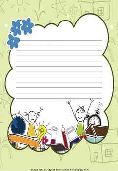Back to School Writing Paper FREEBIE