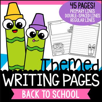 Back to School Writing Paper FREEBIE