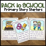 Back to School Writing Paper with Picture Box