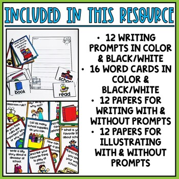 Back-to-School Writing Papers and Prompts