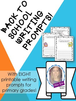 Back to School Writing Prompt Bundle!