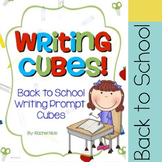 Back to School Writing Prompt Cubes! 54 Fun Writing Prompts