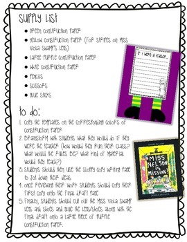 Back to School Writing Prompt Craftivity: If I were a teacher...