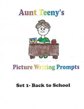 Back to School Writing Prompt Pictures