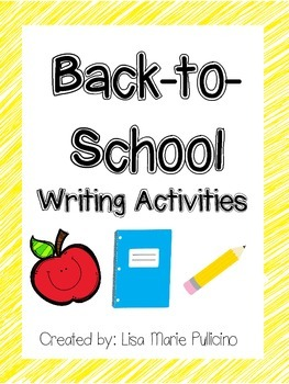 Back-to-School Writing Prompts