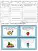 Back to School Writing Prompts Worksheets and Task Cards