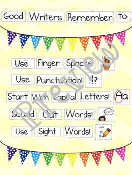 Back to School Writing Prompts for HWT