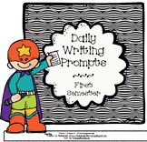 Back to School Writing Prompts for the First Nine Weeks --