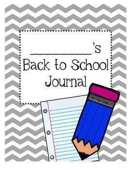 Back to School Writing Prompts/Journals/Quick Writes/Morning Jobs