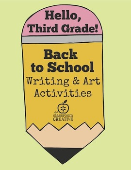Back to School Writing and Art Activities for Third Grade