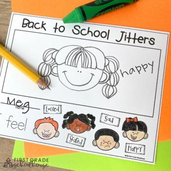 Back to School Writing for Kindergarten