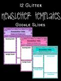 Back to School & Year-Round Newsletter: 12 Google Slide Templates