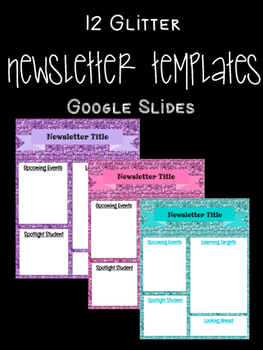 back to school year round newsletter 12 google slide templates