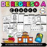 Back to School activities-SPANISH