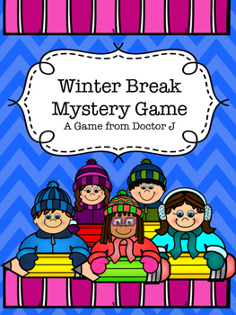 FREE Back to School after Winter/Christmas Break Mystery Game