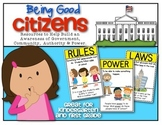 {Back to School} and Being Good Citizens! ...for Kindergarten and First Grade