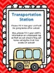 Back to School and Beyond Chevron Transportation Charts and Resources