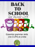 Back to School and Beyond with CUPS