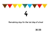 Back to School and End of School Countdown for Bulletins and Doors