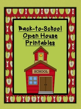 back-to-school and open house printables!meredith walsky | tpt, Powerpoint templates