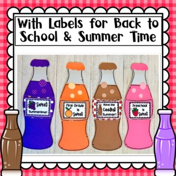 Back to School and Summer Soda Pop Craft