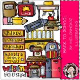Melonheadz: Back to School clip art - Combo Pack