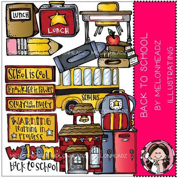 Back to School clip art - Combo Pack- by Melonheadz