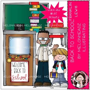 Back to School clip art - Franklin Lewis - Mini - Melonheadz Clipart