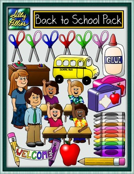 Back to School Clip Art Pack
