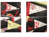 Back to School - college/school pennant for Setting Goals