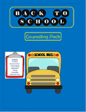 Back to School counselor pack