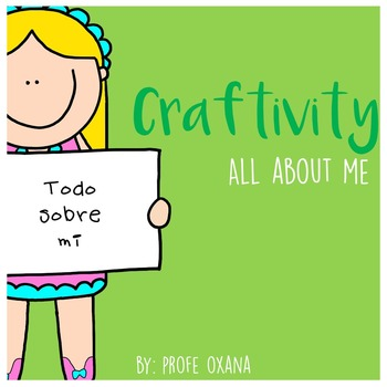 Back to School craftivity - All about me - Todo sobre mi {