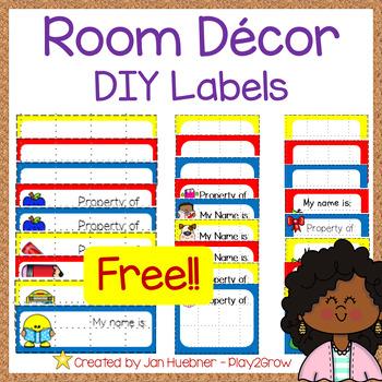 ALL Year  DIY labels