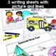 Back to School - first day activities for kindergarten/first grade